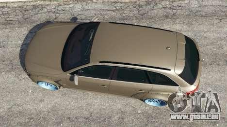 GTA 5 Audi RS4 Avant [LibertyWalk] Rückansicht