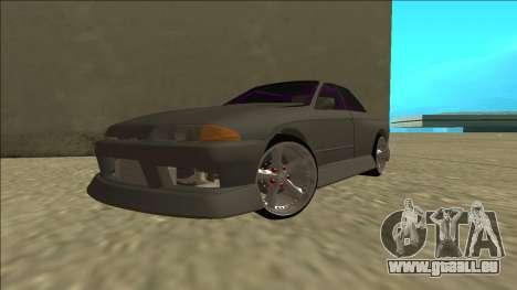 Nissan Skyline R32 Drift Sedan für GTA San Andreas Innenansicht