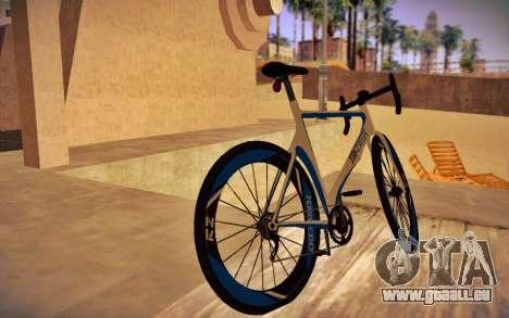 GTA V Tri-Cycles Race Bike für GTA San Andreas linke Ansicht