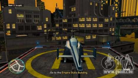 Réel NYC Noms de v1.1 pour GTA 4 troisième écran