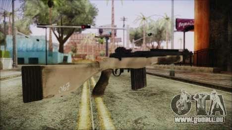 M308 PayDay 2 für GTA San Andreas zweiten Screenshot