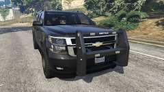 Chevrolet Suburban Police Unmarked 2015