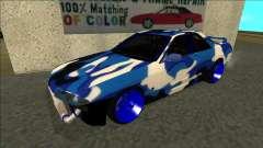 Nissan Skyline R32 Dérive синий pour GTA San Andreas