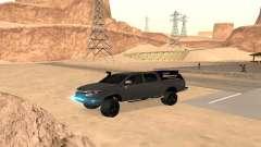 Toyota Hilux 2012 Activa barra del pour GTA San Andreas