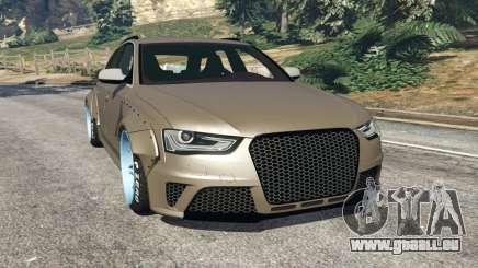 Audi RS4 Avant [LibertyWalk] pour GTA 5
