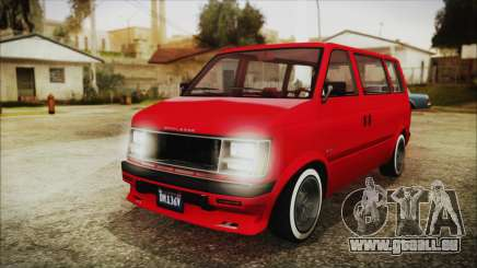 GTA 5 Declasse Moonbeam No Interior IVF für GTA San Andreas