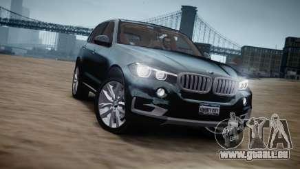 BMW X5 2015 für GTA 4