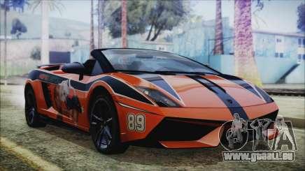 Lamborginhi Gallardo LP-570 Spyder HxH Neferpito pour GTA San Andreas