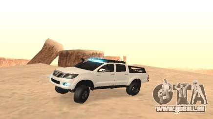 Toyota Hilux 4WD 2015 Rustica pour GTA San Andreas