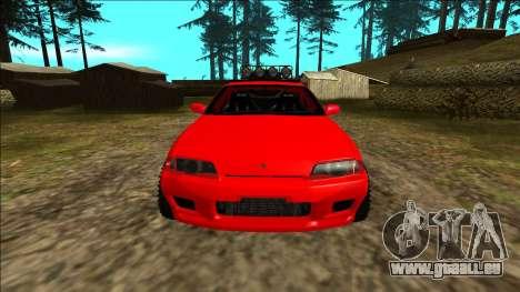 Nissan Skyline R32 Rusty Rebel für GTA San Andreas Innen