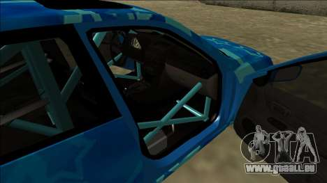 Lexus IS300 Drift Blue Star für GTA San Andreas Motor
