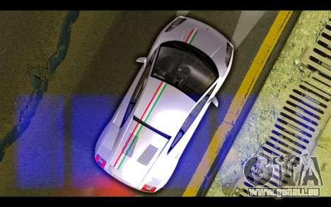 Lamborghini Gallardo für GTA San Andreas Unteransicht