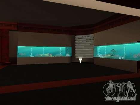 Die verborgenen Innenräume der casino die Vier D für GTA San Andreas zweiten Screenshot