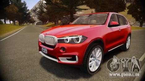 BMW X5 2014 pour GTA 4