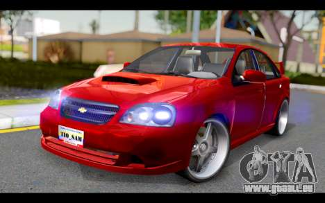 Chevrolet Optra 2007 pour GTA San Andreas