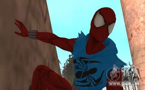 Scarlet Spider Ben Reilly en Robinosuke pour GTA San Andreas