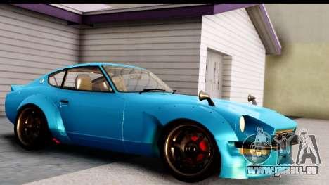 Nissan Fairlady 240Z Rocket Bunny für GTA San Andreas linke Ansicht