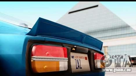 Nissan Fairlady 240Z Rocket Bunny für GTA San Andreas Rückansicht