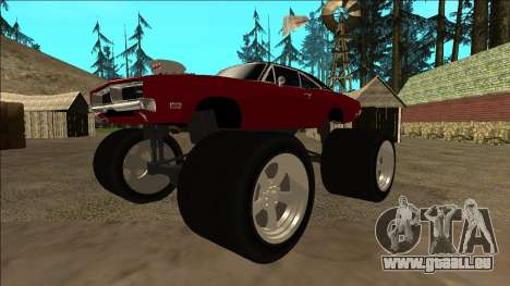 Dodge Charger 1969 Monster Edition für GTA San Andreas linke Ansicht