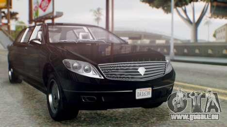 GTA 5 Benefactor Stretch E IVF pour GTA San Andreas