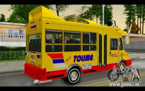 Iveco Turbo Daily Buseton pour GTA San Andreas laissé vue