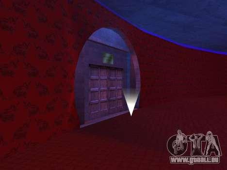 Cachés dans les intérieurs de la casino les Quat pour GTA San Andreas troisième écran
