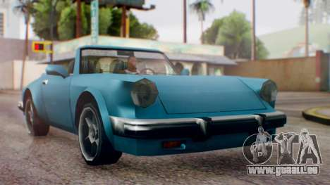 Updated Comet pour GTA San Andreas