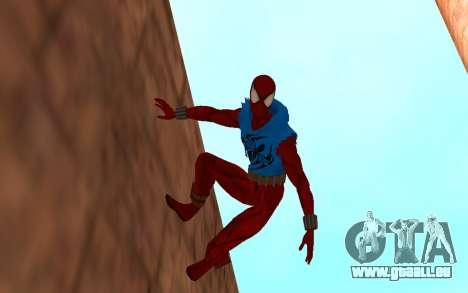 Scarlet Spider Ben Reilly en Robinosuke pour GTA San Andreas deuxième écran