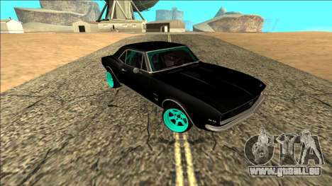 Chevrolet Camaro SS Drift pour GTA San Andreas vue de droite