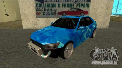 Lexus IS300 Drift Blue Star für GTA San Andreas