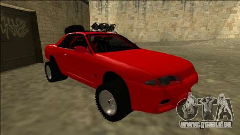 Nissan Skyline R32 Rusty Rebel pour GTA San Andreas laissé vue
