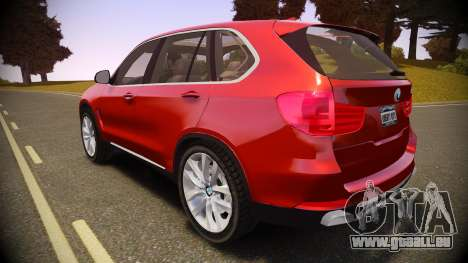 BMW X5 2014 pour GTA 4 est une gauche