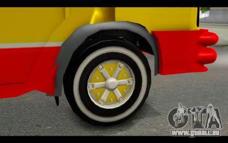 Iveco Turbo Daily Buseton pour GTA San Andreas sur la vue arrière gauche