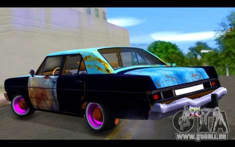 Dodge Dart 1975 v2 Estilo Rusty pour GTA San Andreas laissé vue
