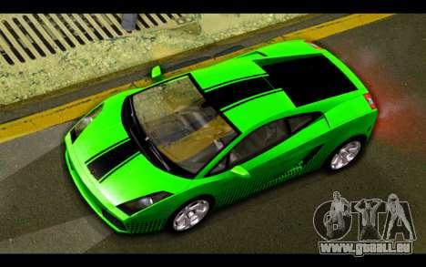 Lamborghini Gallardo für GTA San Andreas Motor