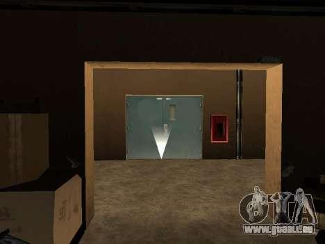 Cachés dans les intérieurs de la casino les Quat pour GTA San Andreas quatrième écran
