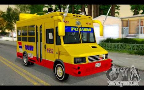 Iveco Turbo Daily Buseton pour GTA San Andreas