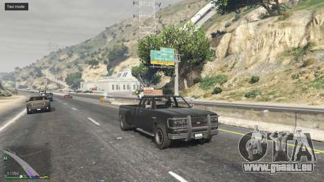 Tout le monde est un Taxi pour GTA 5