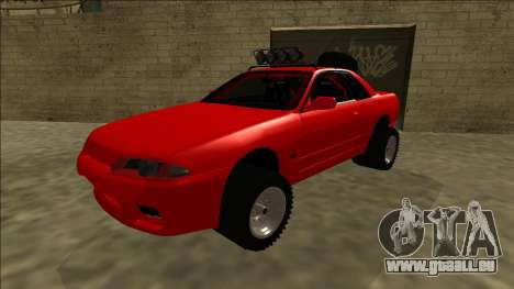 Nissan Skyline R32 Rusty Rebel für GTA San Andreas
