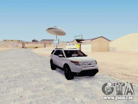 Ford Explorer 2013 Semi-Tuning pour GTA San Andreas