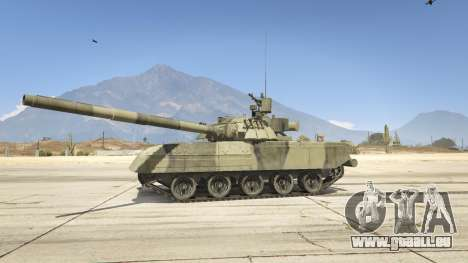 GTA 5 T-80U vue latérale gauche