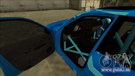 Lexus IS300 Drift Blue Star für GTA San Andreas Räder