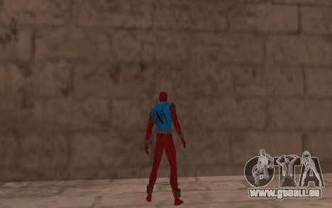 Scarlet Spider Ben Reilly en Robinosuke pour GTA San Andreas quatrième écran