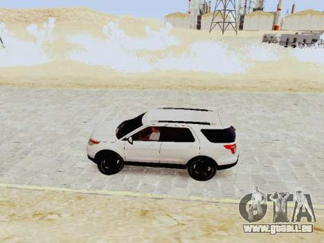 Ford Explorer 2013 Semi-Tuning für GTA San Andreas linke Ansicht