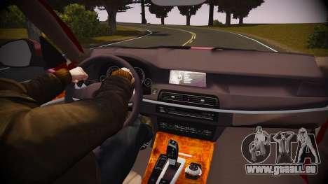 BMW X5 2014 für GTA 4 obere Ansicht