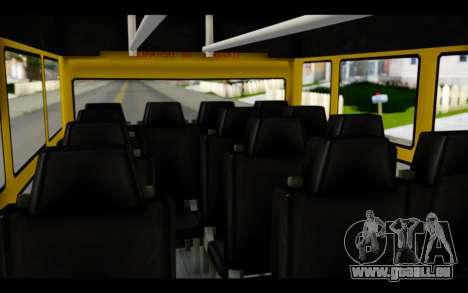 Iveco Turbo Daily Buseton für GTA San Andreas Rückansicht