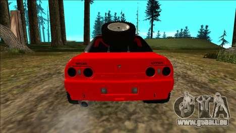 Nissan Skyline R32 Rusty Rebel für GTA San Andreas