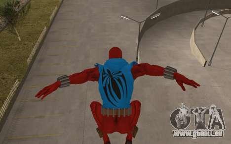 Scarlet Spider Ben Reilly von Robinosuke für GTA San Andreas fünften Screenshot