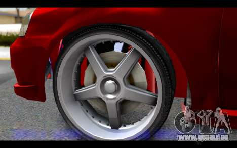 Chevrolet Optra 2007 pour GTA San Andreas sur la vue arrière gauche