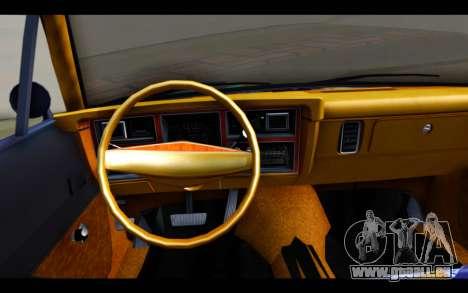 Dodge Dart 1975 v2 Estilo Rusty pour GTA San Andreas sur la vue arrière gauche